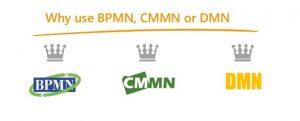 BPMN و CMMN و DMN