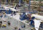 فرآیند تولید هواپیمای بوئینگ