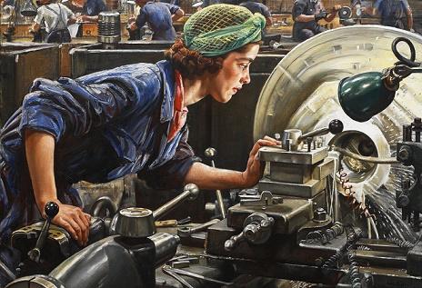 جنگ جهانی دوم وپیشرفت های مهندسی صنایع